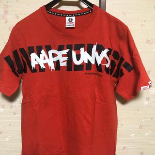 アベイシングエイプ(A BATHING APE)のAPE Tシャツ オレンジ(Tシャツ/カットソー(半袖/袖なし))