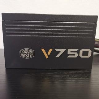 エイスース(ASUS)の最終値下げCoolerMaster 80PLUS  750W電源ユニット (PCパーツ)