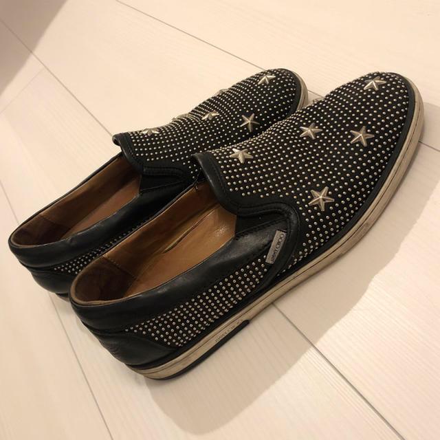 JIMMY CHOO(ジミーチュウ)のメンズ ジミーチュー スリッポン メンズの靴/シューズ(スリッポン/モカシン)の商品写真