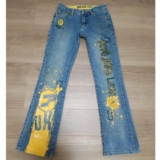 ペペジーンズ(Pepe Jeans)のPEPE☆JEANS☆ペイントデニム 27インチ☆(デニム/ジーンズ)
