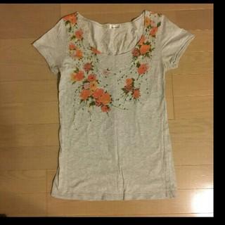 ミスティウーマン(mysty woman)のミスティウーマン ロング丈 Tシャツ(Tシャツ(半袖/袖なし))