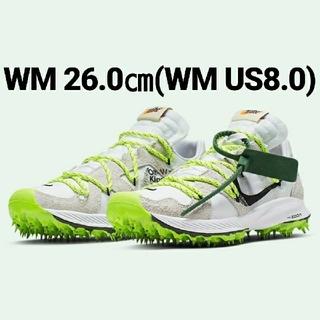 ナイキ(NIKE)のOff-White x Nike Zoom Terra Kiger 5(スニーカー)
