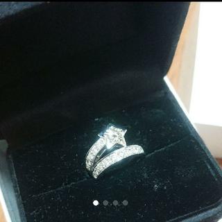 限定出品 美品 PTリング ダイヤモンド シャネル コメット タイプ 1ct超え(リング(指輪))