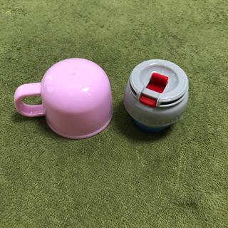 ボンボンリボン(ぼんぼんりぼん)のsararin様 専用 スケーター ボンボンリボン 中栓キャップ コップ セット(水筒)