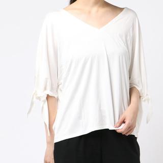 アメリヴィンテージ(Ameri VINTAGE)のアメリヴィンテージ sleeveTOPSribbon (Tシャツ(半袖/袖なし))