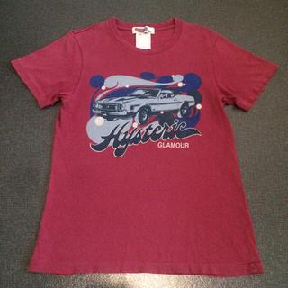 ヒステリックグラマー(HYSTERIC GLAMOUR)のヒステリックグラマー ピンク Tシャツ Sサイズ(Tシャツ/カットソー(半袖/袖なし))