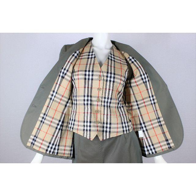 BURBERRY(バーバリー)のバーバリー スカート スーツ M ノバチェック 9号 tqe ★極美品★ レディースのフォーマル/ドレス(スーツ)の商品写真