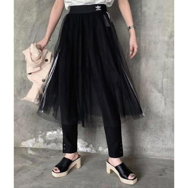 adidas(アディダス)のadidas チュールスカート レディースのスカート(ロングスカート)の商品写真