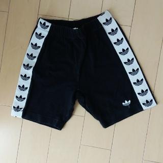 アディダス(adidas)のadidas綿短パン☆キッズSサイズ(パンツ/スパッツ)
