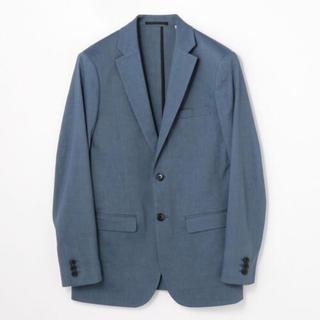 9afca82326b77 トゥモローランド(TOMORROWLAND)のトゥモローランド リネン テーラードジャケット 48 ブルー(テーラードジャケット)