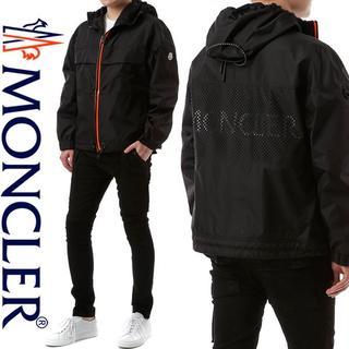 モンクレール(MONCLER)の【6】MONCLER『THIOU』ブラック ナイロン ウインドブレイカー 2(ナイロンジャケット)