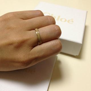 クロエ(Chloe)のクロエ  ベージュリング💍(リング(指輪))