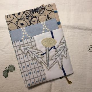 ミナペルホネン(mina perhonen)のミナペルホネン  ハンドメイド ブックカバー 手帳カバー B6 はぎれ ハギレ(ブックカバー)