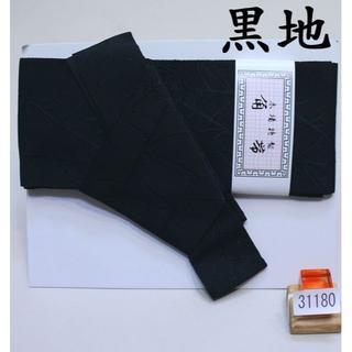 角帯 メンズ 結び不要 ワンタッチ 日本製 ブラック ポリ 夏 NO31180(浴衣帯)