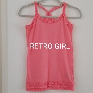 レトロガール(RETRO GIRL)のレトロガール タンクトップ M(カットソー(半袖/袖なし))