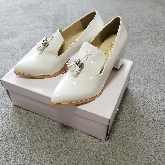 mystic(ミスティック)のmystic 未使用 ローファー パンプス オックスフォード 37 23.5 レディースの靴/シューズ(ハイヒール/パンプス)の商品写真