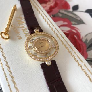 ショパール(Chopard)のショパール ハッピーダイヤモンド 18k&ダイヤモンド(腕時計)