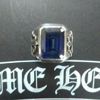 クロムハーツ(Chrome Hearts)のSILVA925ブルーサファイアリング(リング(指輪))