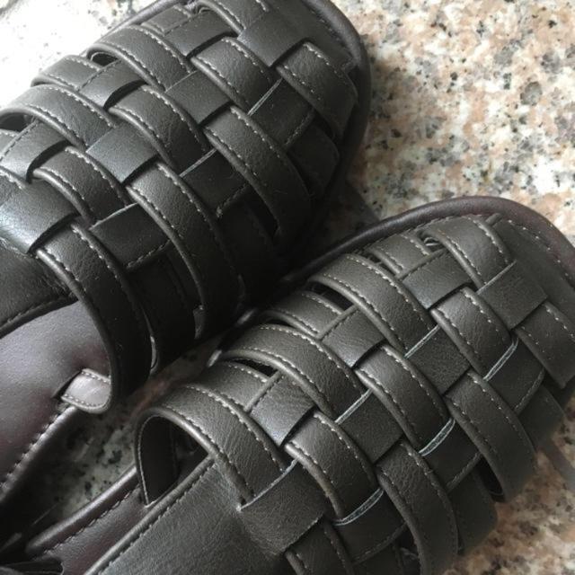 SM2(サマンサモスモス)のメッシュバックストラップサンダル レディースの靴/シューズ(サンダル)の商品写真