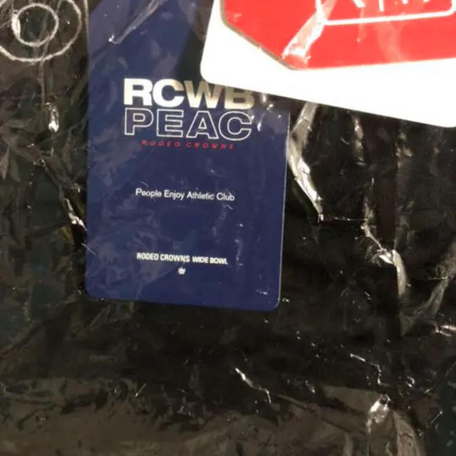 RODEO CROWNS WIDE BOWL(ロデオクラウンズワイドボウル)のRCWB★PEACレギンス★ブラックのみ‼️ レディースのレッグウェア(レギンス/スパッツ)の商品写真