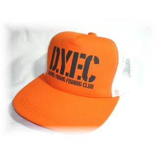 ダイワ(DAIWA)のDYFC帽子★ダイワ Daiwaメッシュキャップ オレンジ フリー56-60cm(ウエア)