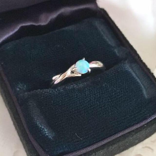 フェミニンです♡オパールリング♡ レディースのアクセサリー(リング(指輪))の商品写真