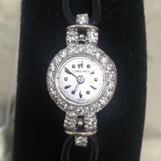 LONGINES - Longinesロンジン レディース アンティーク時計 14K バックワインドの通販