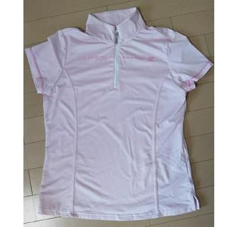 クレージュ(Courreges)のクレージュ スポーツウエア 運動 半袖 ピンク サイズ40(ウェア)