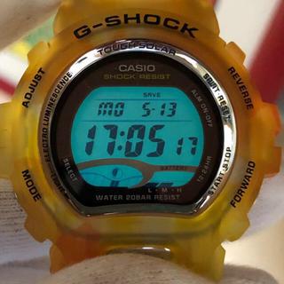 ジーショック(G-SHOCK)のG-SHOCK/ビンテージ/ソーラー/クリアイエロー/迷彩/G-LIDE/未使用(腕時計(デジタル))
