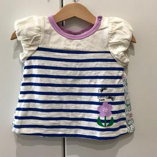 プチジャム(Petit jam)の未使用♡プチジャム Tシャツ 80㎝ ネコ柄(Tシャツ)