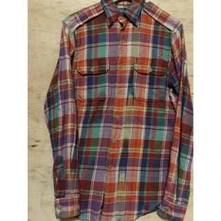 ポロラルフローレン(POLO RALPH LAUREN)のポロ バイ ラルフローレン ネルシャツ チェックシャツ(シャツ)