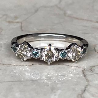アレキサンドライト・ブラウンダイヤモンドリング(リング(指輪))