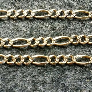 アヴァランチ(AVALANCHE)のフィガロ チェーン 10k  ネックレス(ネックレス)