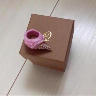 キューポット(Q-pot.)の【現在非売品!】キューポット メルティージェラート リング(リング(指輪))