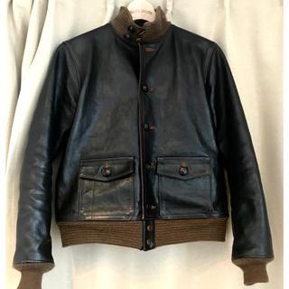 ザリアルマッコイズ(THE REAL McCOY'S)のreal mccoy's a1 jacket 38size(ミリタリージャケット)