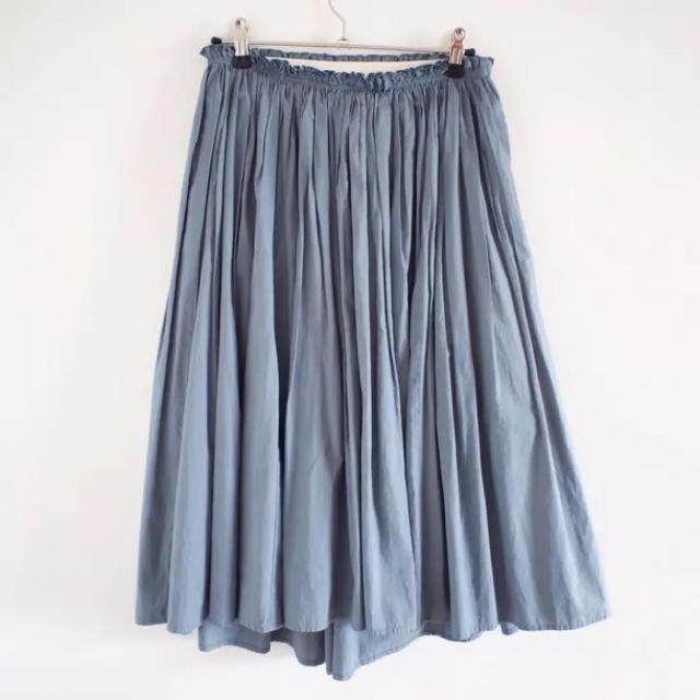 Demi-Luxe BEAMS(デミルクスビームス)のDemi-Luxe BEAMSタイプライターギャザースカート レディースのスカート(ひざ丈スカート)の商品写真