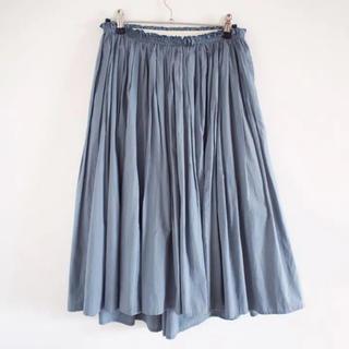 デミルクスビームス(Demi-Luxe BEAMS)のDemi-Luxe BEAMSタイプライターギャザースカート(ひざ丈スカート)
