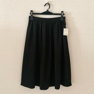ストラ(Stola.)のstola.♡新品♡黒色のミディアム丈スカート(ひざ丈スカート)