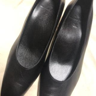 ワコール(Wacoal)のワコール パンプス 24.5cm 黒(ハイヒール/パンプス)