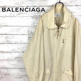 バレンシアガ(Balenciaga)の希少 バレンシアガ BALENCIAGA スウィングトップ  刺繍ロゴ(ブルゾン)