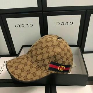 グッチ(Gucci)のグッチ  帽子 ベースボール キャップ  サイズ調節可 ユニセックス(キャップ)