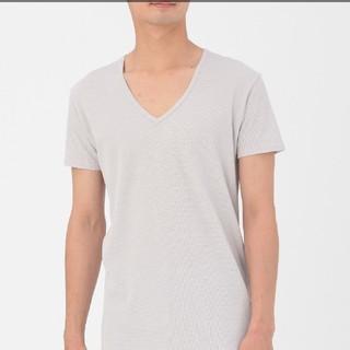 ムジルシリョウヒン(MUJI (無印良品))の無印良品 涼感メッシュ編みvネックTシャツ(その他)