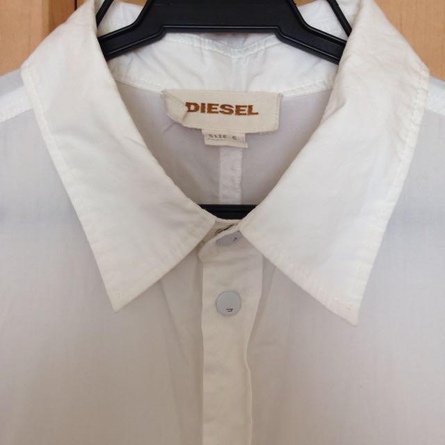 DIESEL(ディーゼル)のDIESELホワイトオールインワン レディースのパンツ(オールインワン)の商品写真