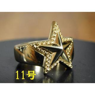 11号 新品 SAINTS セインツ 14K ゴールドネイティブ スターリング (リング(指輪))