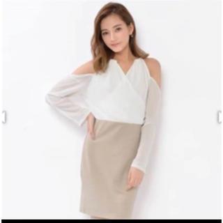 デイジーストア(dazzy store)の袖付き ドレス(ミニドレス)