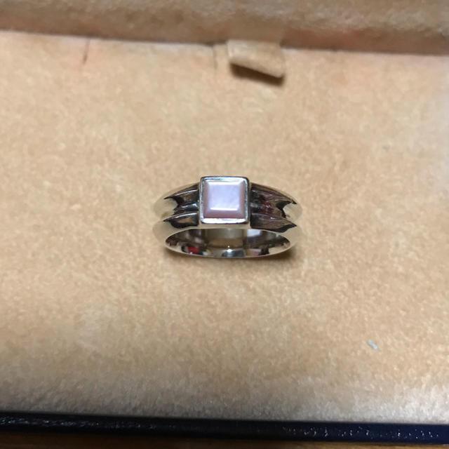 ピンクシェル★シルバー 925 リング  レディースのアクセサリー(リング(指輪))の商品写真