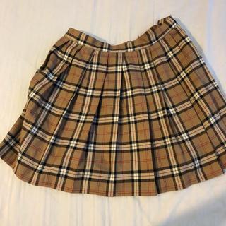 バーバリー(BURBERRY)のSage ノバチェックスカート(ひざ丈スカート)