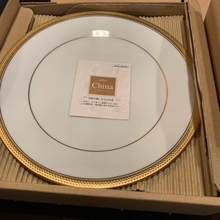 ノリタケ(Noritake)の定価3万!ノリタケ新品三越購入ゴールドライン白5枚セット(食器)