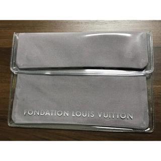 ルイヴィトン(LOUIS VUITTON)の【新品】ルイヴィトン財団美術館限定 ipadケース クラッチバッグ(クラッチバッグ)