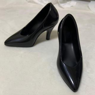 ボークス(VOLKS)のボークス  dd  ドール用 ハイヒール 靴 ブラック 黒 ドルフィードリーム (人形)